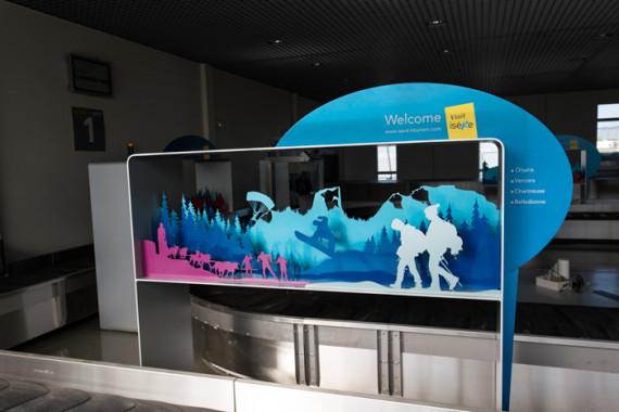 Espaces d'accueil de l'aéroport de Grenoble (38) - 10