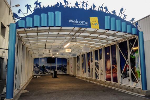 Espaces d'accueil de l'aéroport de Grenoble (38) - 2