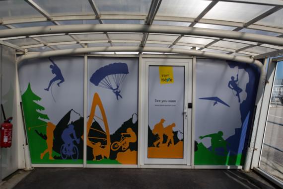 Espaces d'accueil de l'aéroport de Grenoble (38) - 3