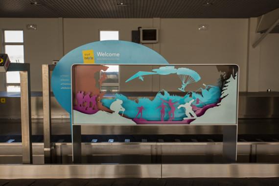 Espaces d'accueil de l'aéroport de Grenoble (38) - 6