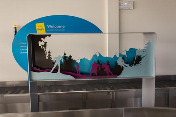 Espaces d'accueil de l'aéroport de Grenoble (38) - 7
