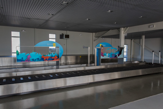 Espaces d'accueil de l'aéroport de Grenoble (38) - 8