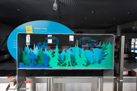 Espaces d'accueil de l'aéroport de Grenoble (38) - 9